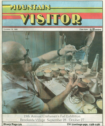 Mountain Visitor cover 1985